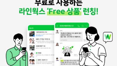 웍스모바일, 기간 무제한 '라인웍스 Free' 출시