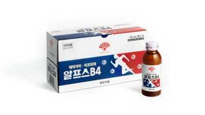 동화약품, 피로회복제 '알프스B4' 출시