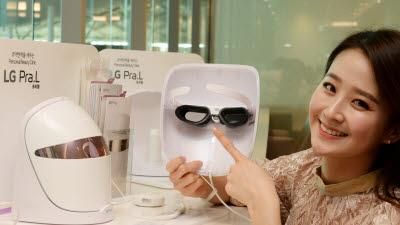 LG 프라엘 'LED 마스크 예비안전기준' 시험 첫 통과