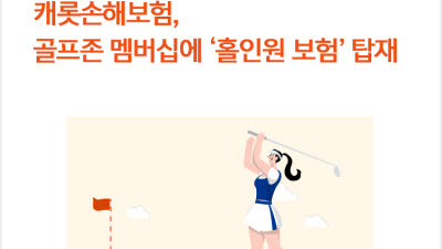 캐롯손보, 골프존 멤버십에 '홀인원 보험' 탑재…레저 영역 확장