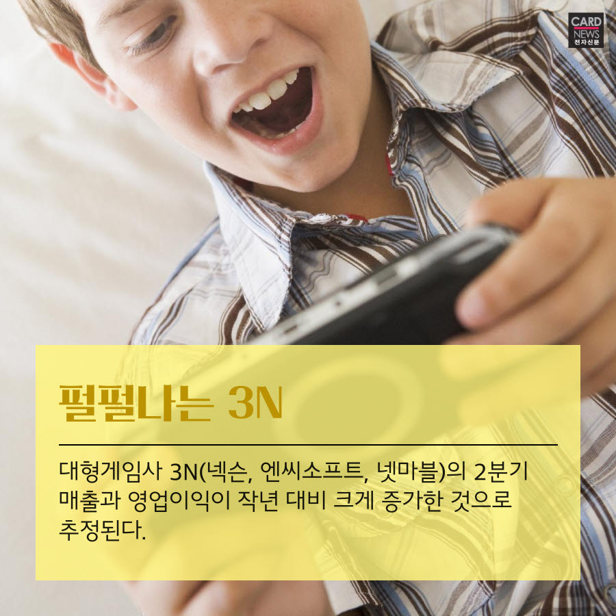 [카드뉴스]늘어나는 집콕족…게임사 3N 실적도 '쑥쑥'