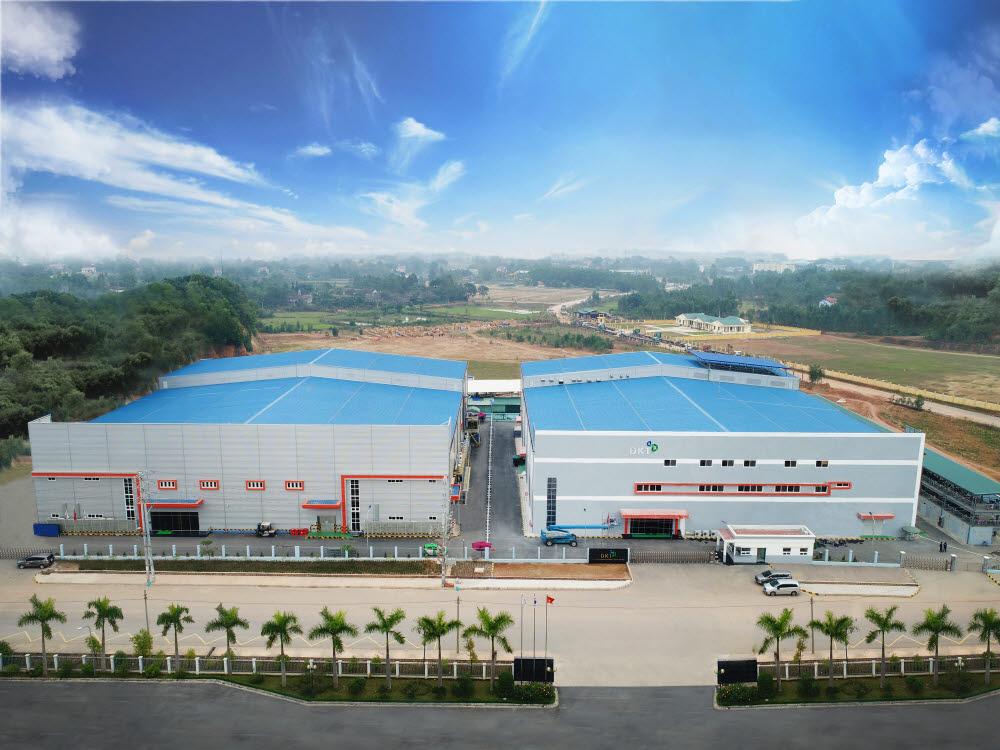 디케이티 베트남 공장 전경