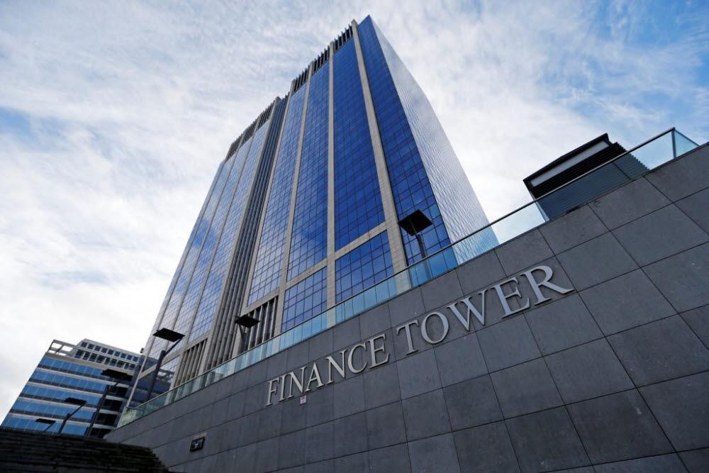제이알글로벌리츠의 주요 투자자산인 벨기에 브뤼셀 소재 파이낸스 타워 컴플렉스. (사진=제이알투자운용)