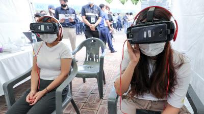 VR로 대비하는 면접