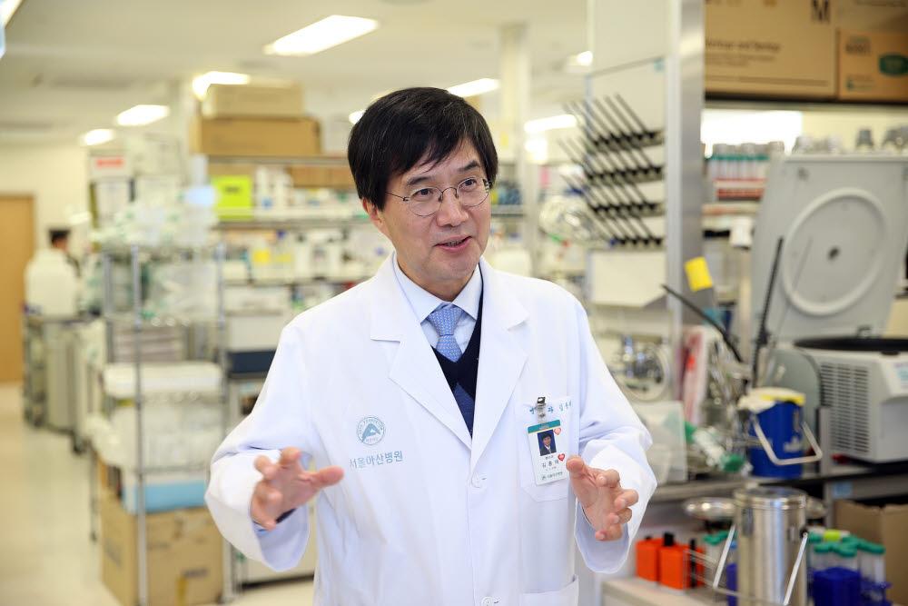 김종재 한국데이터중심의료사업단장 (서울아산병원 아산생명과학연구원장)