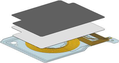 무선충전 수신모듈(RX) 개념도(자료: 위츠)