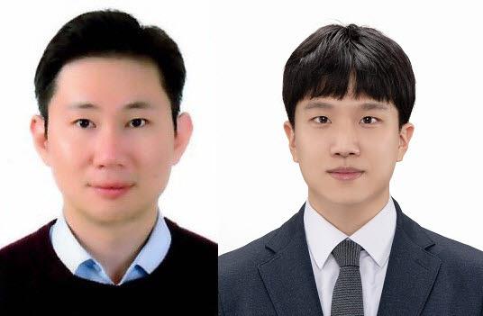 포스텍 이효민 교수(왼쪽)와 통합과정 윤종선씨