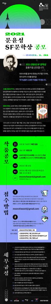 [알림]2021 문윤성 SF 문학상 공모