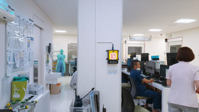 KT, IoT 비상벨 \'세이프 메이트\' 맞춤형 설계로 병원 안전 지킨다