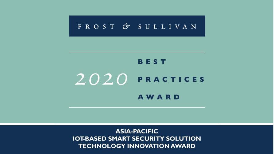 펜타 IoT 시큐리티가 2020 프로스트앤설리번 아시아·태평양 베스트 프랙티스 어워드에서 IoT 보안 기술 혁신상을 수상했다. 펜타시큐리티시스템 제공