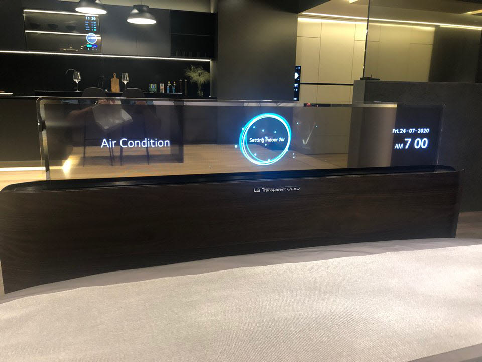 [르포] LG디스플레이, 마곡 '쇼룸' 최초 공개…'OLED로 미래를 비추다'