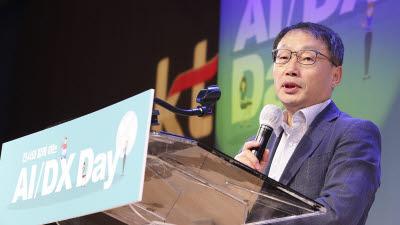 KT, ABC사업 비전 공유 위한 'AI/DX 데이' 개최