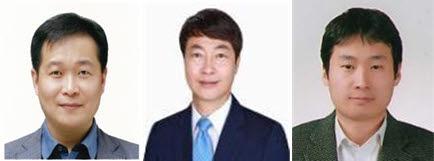 왼쪽부터 우창수 성일에스아이엠 대표, 신상호 예맥 대표, 최성제 한국로텍 대표.