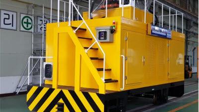 철도연, 전차선로 자동세척시스템 개발