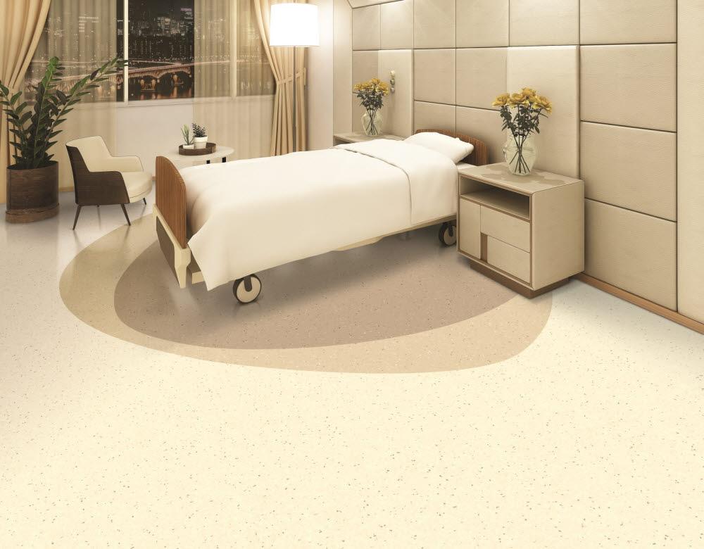 LG하우시스, 내구성 강화한 의료시설용 바닥재 출시
