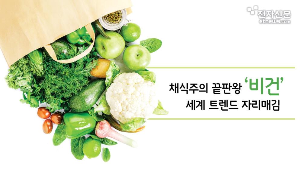 [모션그래픽]채식주의 끝판왕 '비건'…세계 트렌드 자리매김