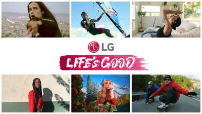 MZ세대와 소통하는 LG전자...Life's Good 캠페인
