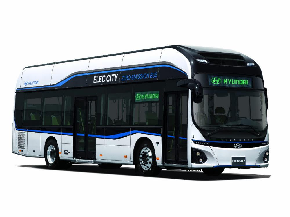 현대차 노선용 전기버스 일렉시티.
