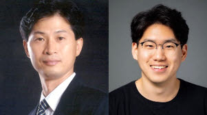 (왼쪽부터)서울대 공대 전기정보공학부 이경무 교수, 박사과정 문경식 연구원