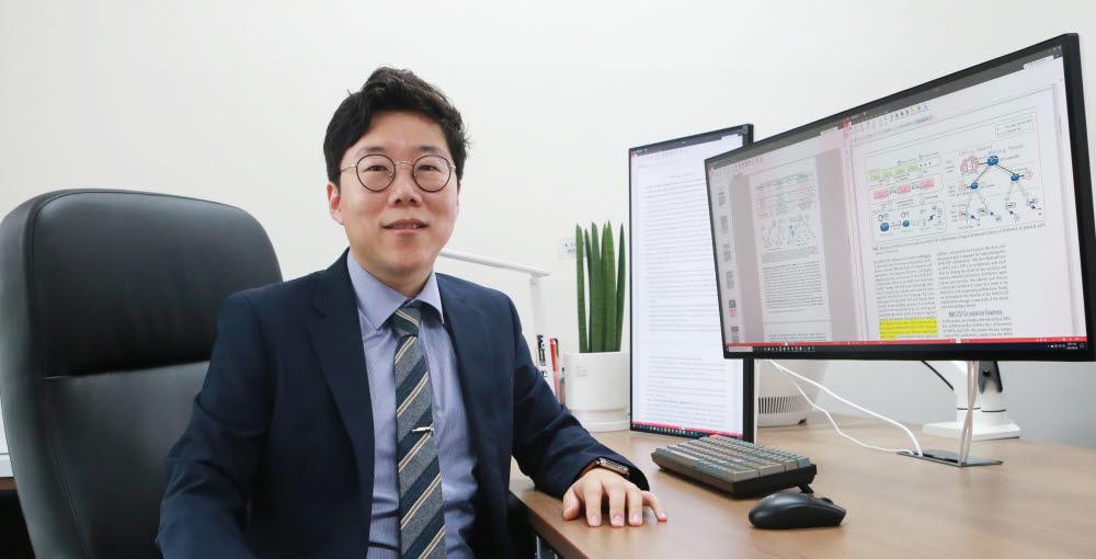 차세대 네트워크 시스템에 활용 가능한 새로운 네트워크-클라우드 협력 프레임워크를 개발한 곽정호 DGIST 정보통신융합전공 교수
