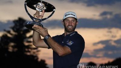 더스틴 존슨, 미국프로골프(PGA) 투어 플레이오프 1차전 정상