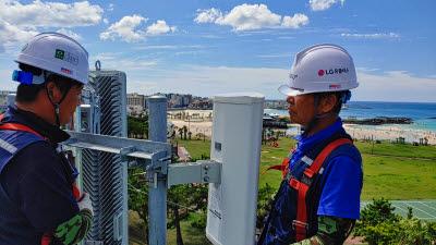 LG유플러스, 태풍 바비 북상에 네트워크 안정 방안 마련