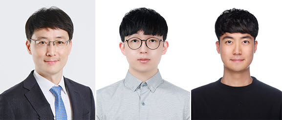 연구에 참여한 KAIST 연구진 사진 왼쪽부터 윤준보 교수, 최광욱 박사, 조민승박사과정.