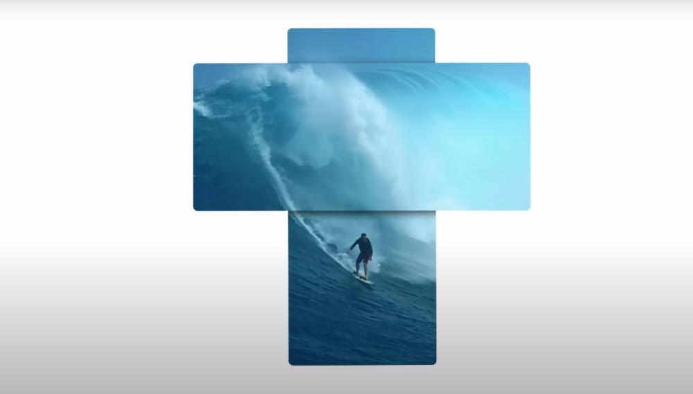 LG전자 하반기 전략 스마트폰 온라인 공개행사 초청장 한 장면. LG 윙(코드명) 공개를 암시하는 이미지가 담겼다.