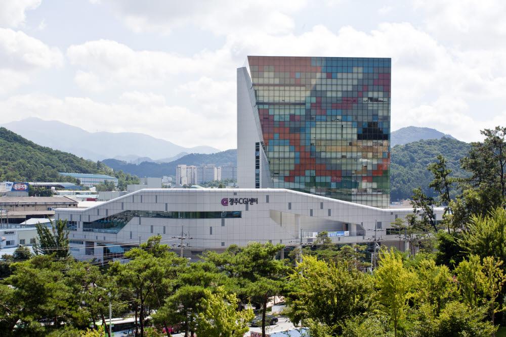 광주지역 VRAR제작 거점인 CGI센터 전경.