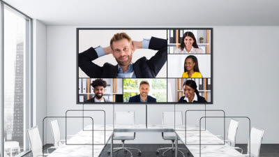 모컴테크, '언택트 영상회의실 시스템' 보급…고선명 초대형 스크린 시스템 개발