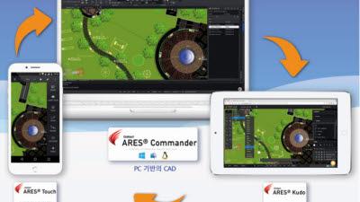 인텔리코리아, 언택트와 M2O 환경의 아레스캐드(ARESCAD) 사업 확대