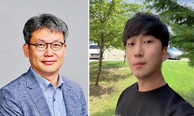 사진 왼쪽부터 이흥규 교수, 박장현 석박사통합과정
