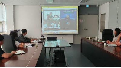 경남TP, 유럽·아시아 온라인 항공 B2B 전시회 참가