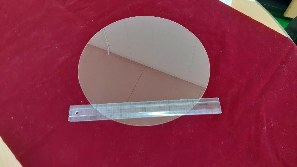 대경셈코가 개발한 12인치 사파이어 웨이퍼