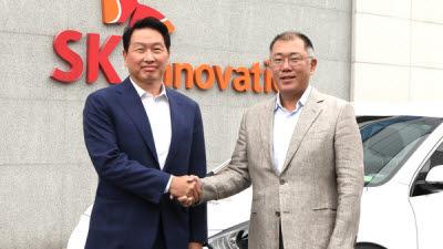 SK이노베이션, 현대·기아차와 전기차 배터리 생태계 발전 협력