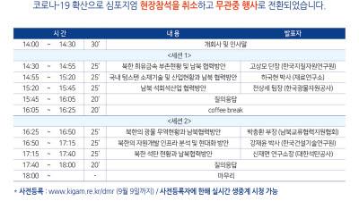 지질연, '북한 광물자원' 주제 온라인 심포지엄 개최