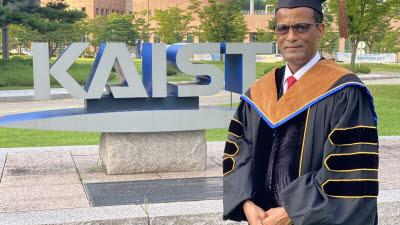 에티오피아 장관, KAIST서 4년 연구 끝에 박사학위 취득