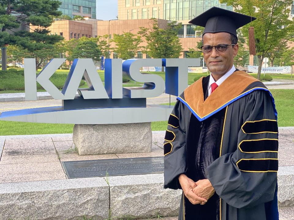 KAIST에서 박사학위를 받은 메쿠리아 에티오피아 국무총리 자문장관