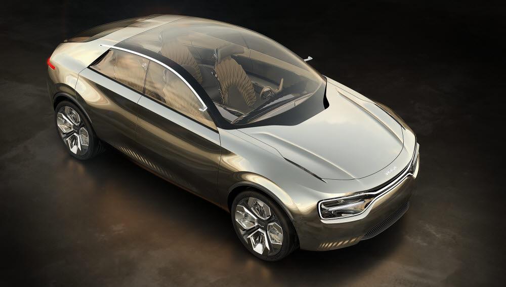 내년 8월 국내 출시 예정인 기아차의 배터리 전기차 이매진 콘셉트.