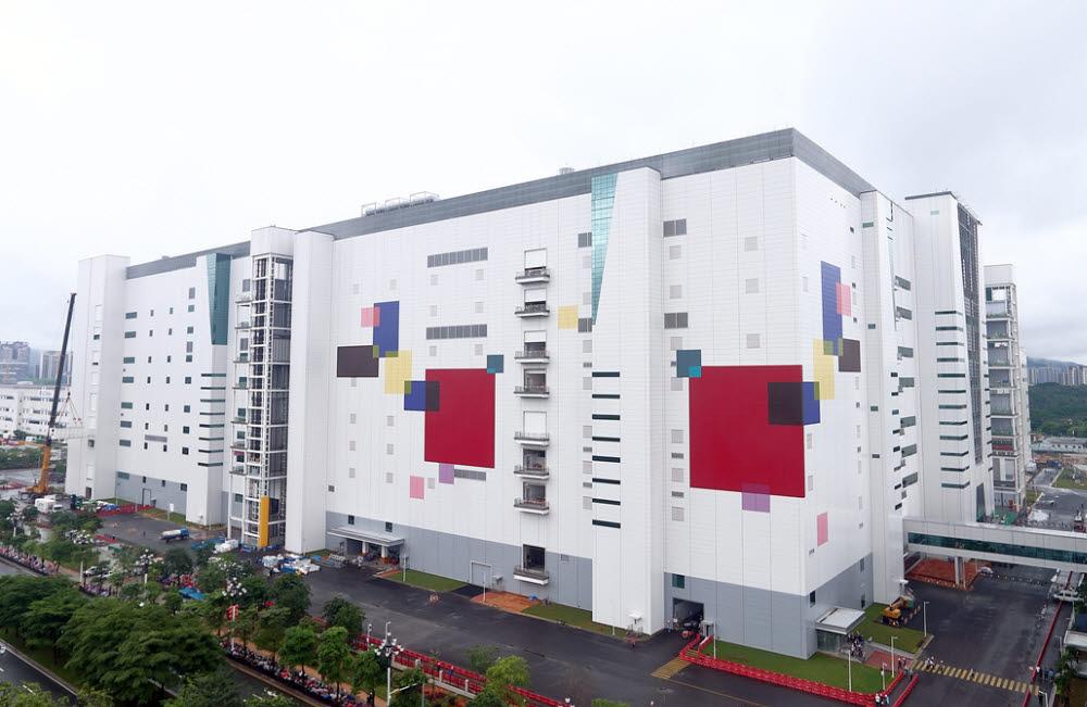 LG디스플레이 중국 광저우 8.5세대 OLED 공장