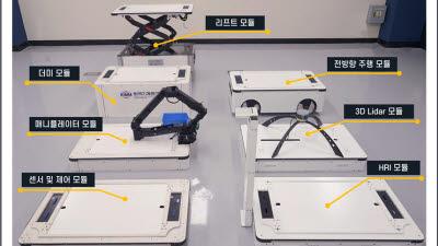 기계연, '모듈형 AI 자율작업 로봇' 개발