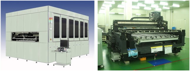 참엔지니어링이 개발한 FPD 레이저 리페어 장비