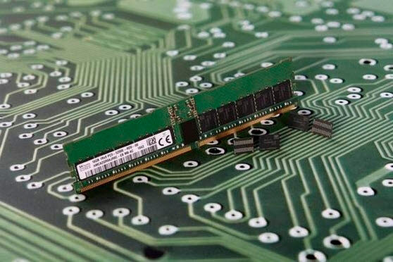 SK하이닉스 DDR5 D램. <사진=SK하이닉스>
