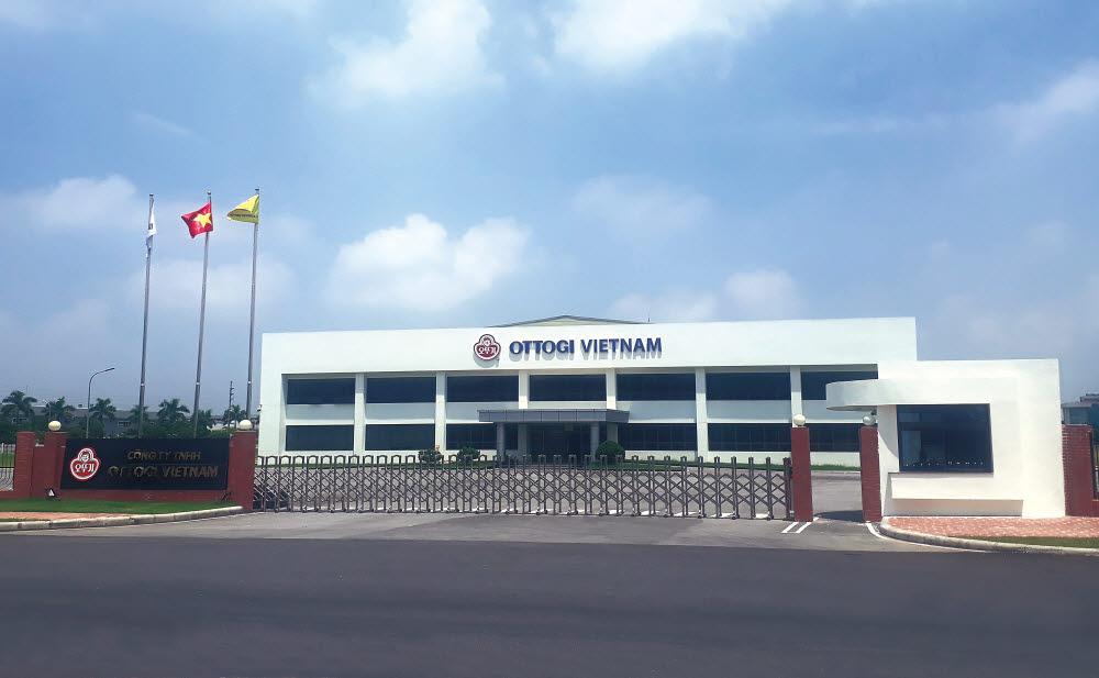 오뚜기 베트남 박닌 공장 전경