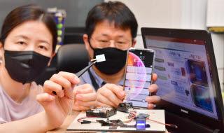 세계 최초 스마트폰 필름으로 위조지문 차단 기술 상용화