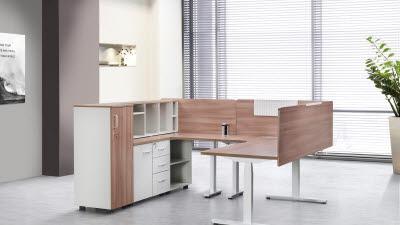 <3>디자인칼라스, 똑똑한 친환경 책상 제조