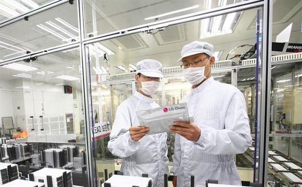 LG화학 전기차 배터리 공장