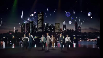 BTS 신곡에 엇갈린 희비…한화·삼성 \'웃고\' 롯데 \'씁쓸\'