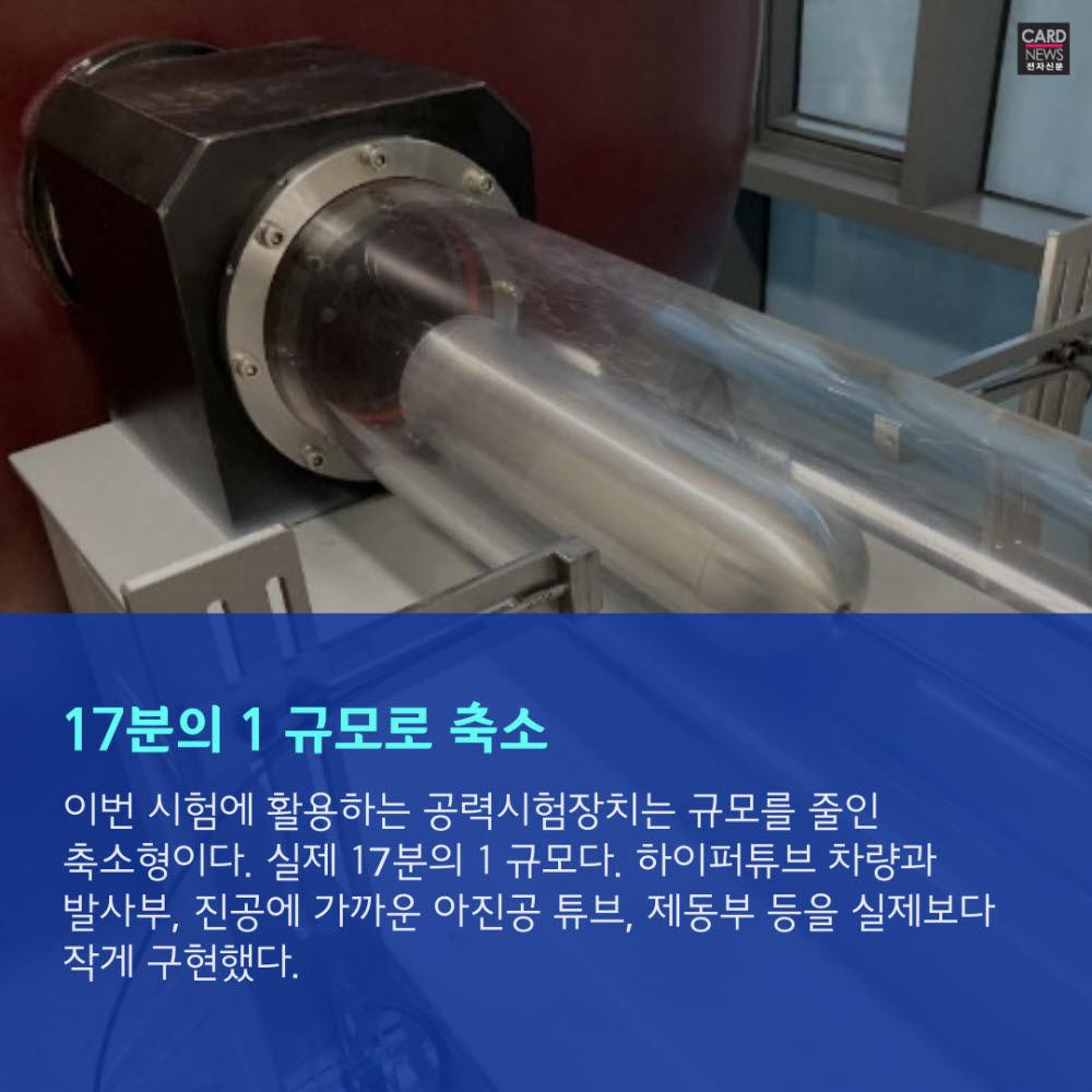 [카드뉴스]꿈의 열차 '하이퍼튜브' 시속 714㎞ 달성