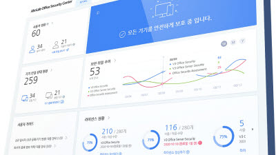 안랩, 중소기업 보안관리 솔루션 '안랩 오피스 시큐리티' 출시